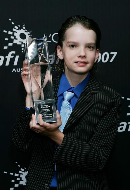 Kodi Smit-McPhee at the L'Oreal Paris 2007 AFI Awards Dinner.