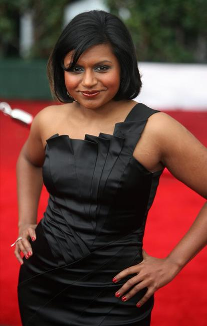 Mindy Kaling at the 14th Screen Actors Guild Awards.