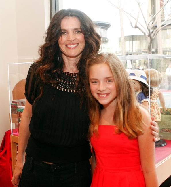 Julia Ormond and Madison Davenport at the after party of the premiere of