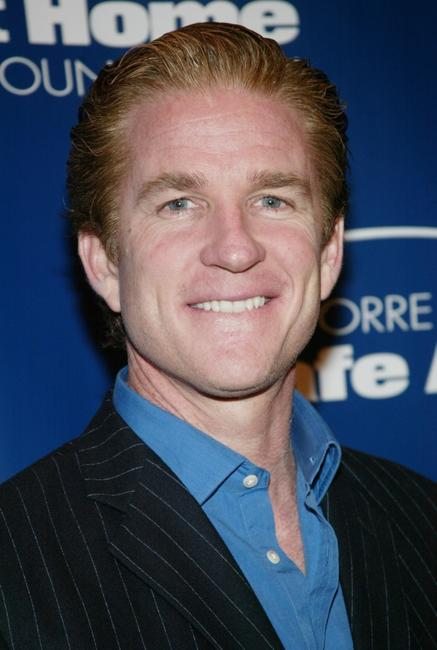 Matthew Modine at the Joe Torre Safe At Home Foundation Gala fundraising dinner.
