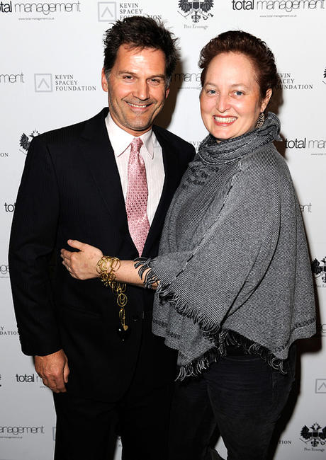 D.W. Moffett and Crystal Moffett at the An Evening In Aid Of The Kevin Spacey Foundation in California.