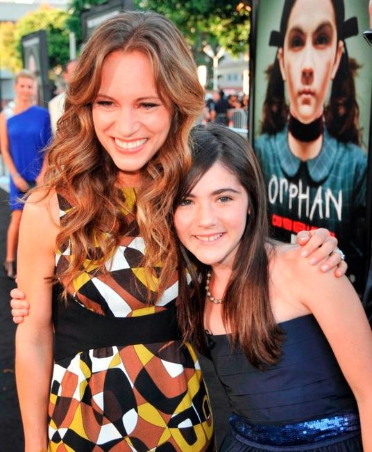 Susan Downey and Isabelle Fuhrman at the California premiere of