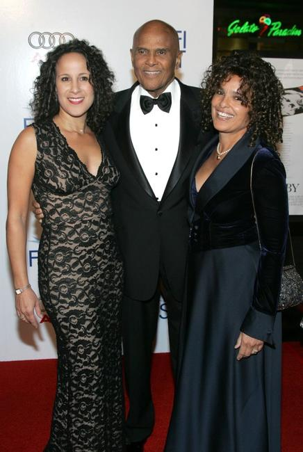 Harry Belafonte and wife Julie Robinson at the AFI FEST opening night gala of