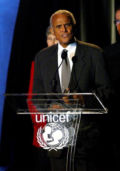 Harry Belafonte at the UNICEF Goodwill Gala.