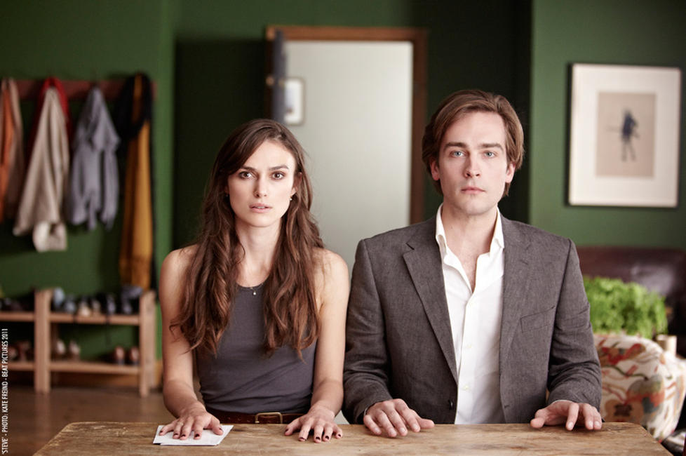 Keira Knightley and Tom Mison in