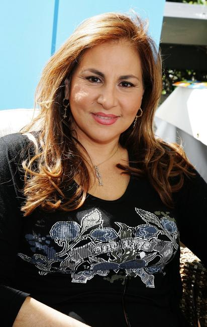 Kathy Najimy at The Ultimate Green' Room Eco Lounge Emmy Gift Suite.