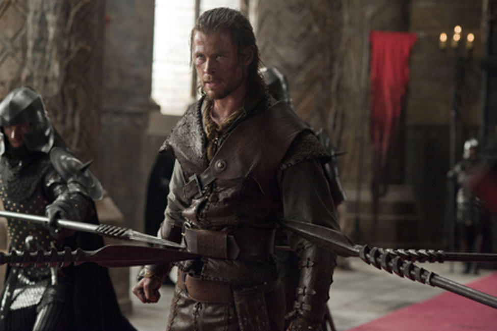 Chris Hemsworth as The Huntsman in ``Snow White and the Huntsman.''