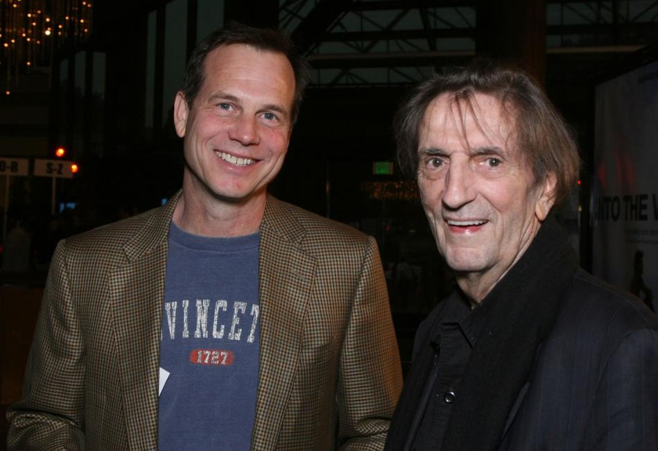 Bill Paxton and Harry Dean Stanton at the Los Angeles premiere of