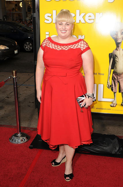 Rebel Wilson at the California premiere of
