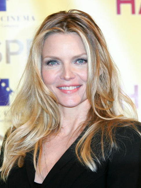 Michelle Pfeiffer at a Las Vegas photocall for the movie