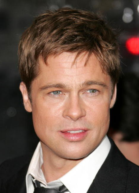 Brad Pitt at the N.Y. premiere of