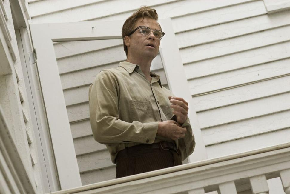 Brad Pitt as Benjamin Button in