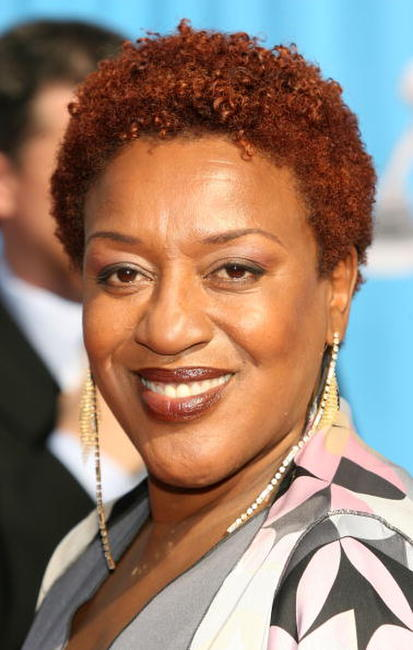 CCH Pounder at the 38th Annual NAACP Image Awards.