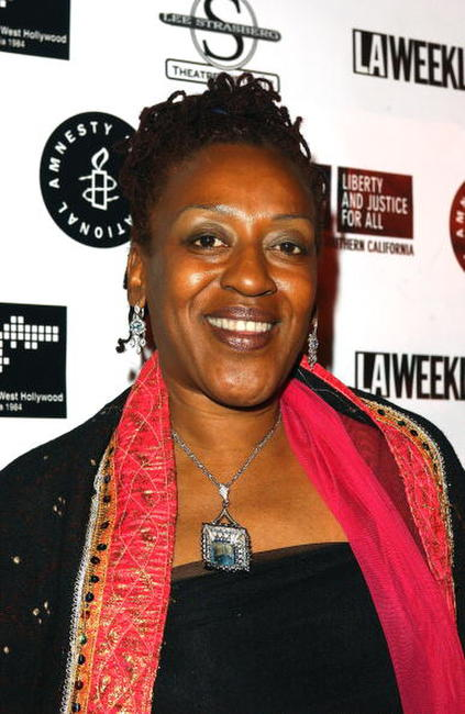 CCH Pounder at the Oscar Night Benefit Party for Amnesty International and the ACLU Foundation.