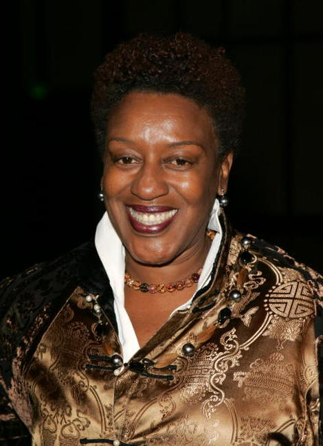 CCH Pounder at the premiere screening of