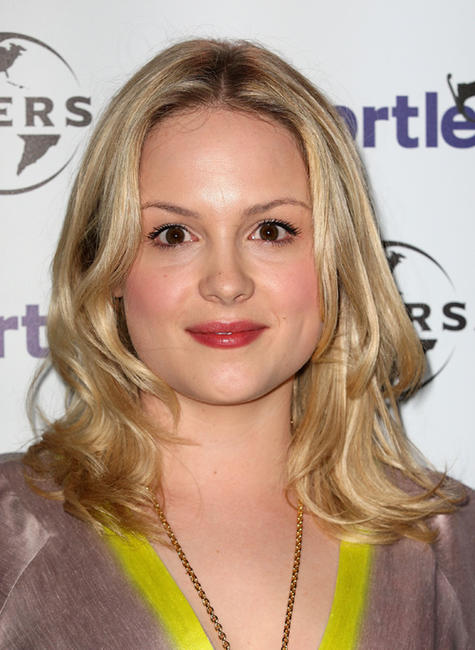 Kimberley Nixon at the Chortle Awards 2012 in England.