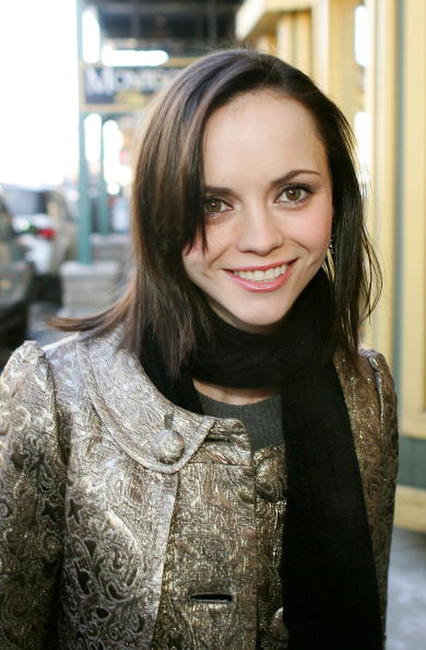 Christina Ricci at the 2007 Sundance Film Festival.