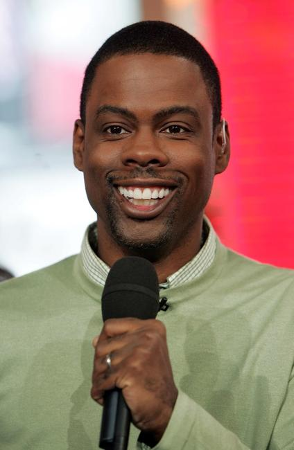 Chris Rock at the MTV's Total Request Live.