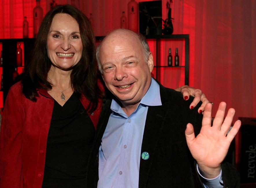 Beth Grant and Wallace Shawn at the Sundowners Cocktail reception during the AFI FEST 2007.