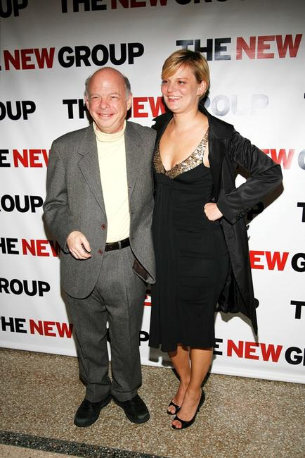Wallace Shawn and Martha Plimpton at the New Group's 2008 Gala.