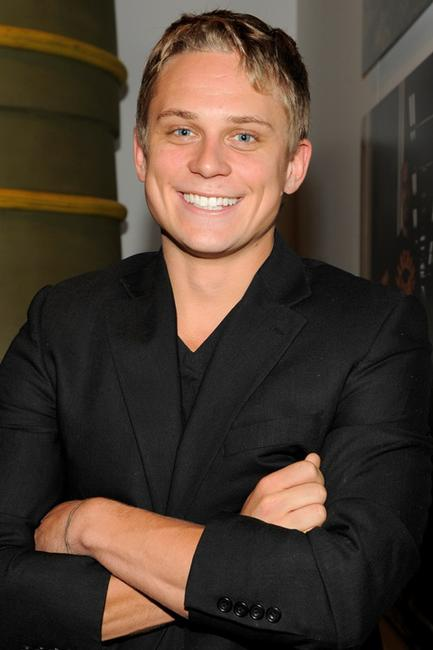 Billy Magnussen at the opening the Vilcek Foundation's exhibition of LOST: A Showcase of the International Artists and Filmmakers.