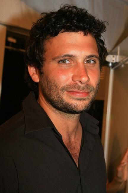 Jeremy Sisto at the Olympus Fashion Week.
