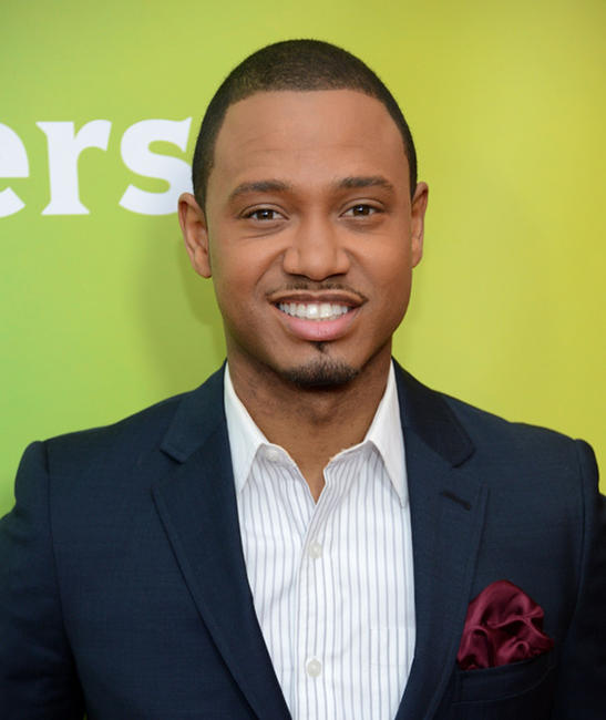 Terrence J at the day 2 of 2013 Winter TCA Tour.
