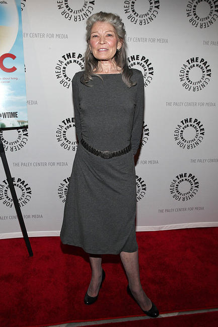 Phyllis Somerville at the New York premiere of