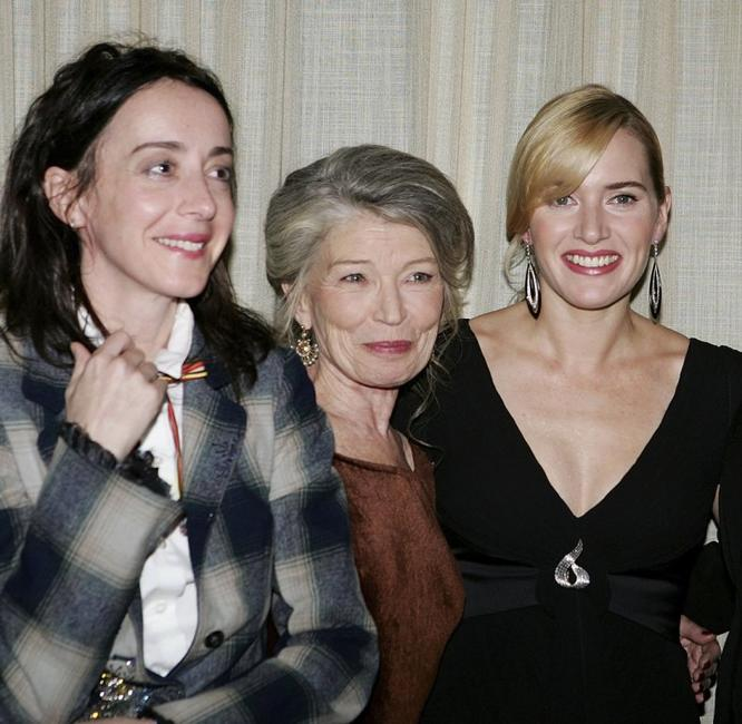 Jane Adams, Phyllis Somerville and Kate Winslet at the New York Film Festival premiere of