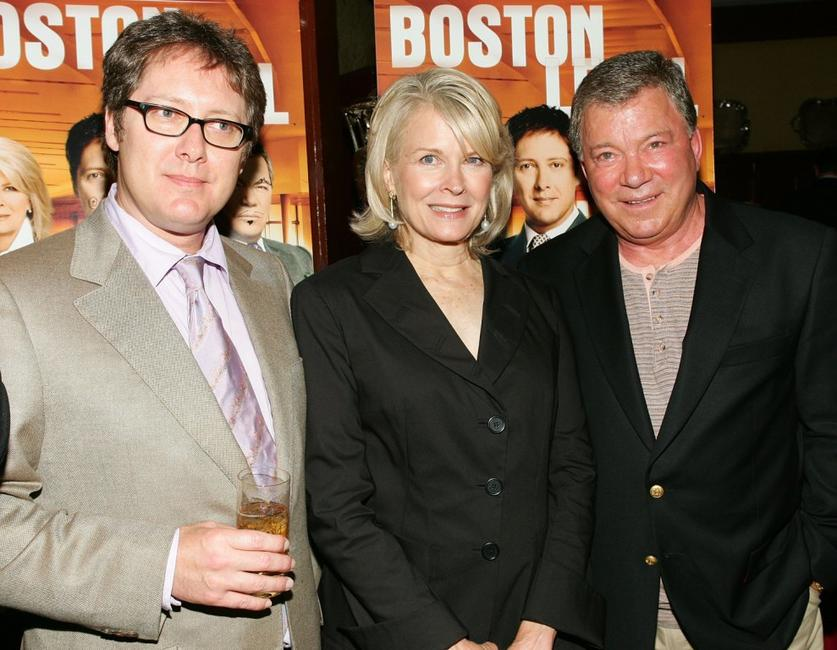 James Spader, Candice Bergen and William Shatner at the