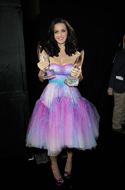 Katy Perry at the 2011 People's Choice Awards in California.