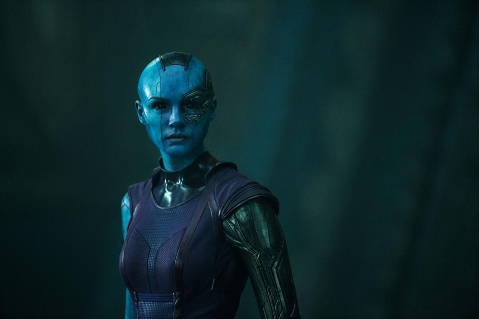 Karen Gillan as Nebula in