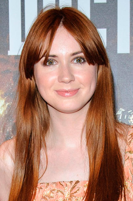 Karen Gillan at the England screening of