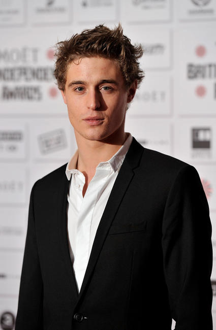Max Irons at the Moet British Independent Film Awards.