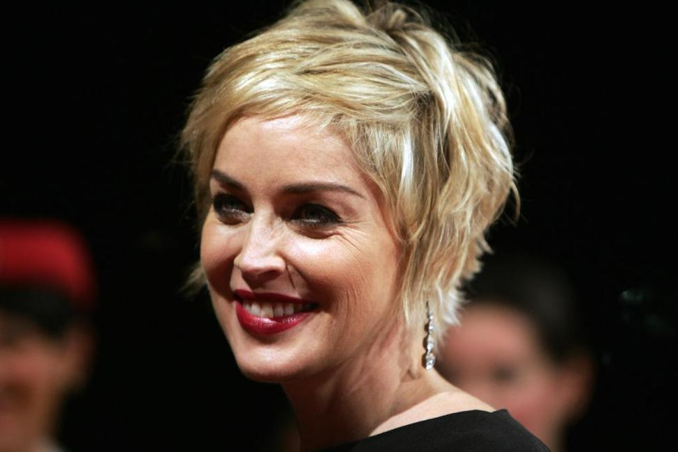 Sharon Stone at the opening of 4th Dubai International Film Festival.
