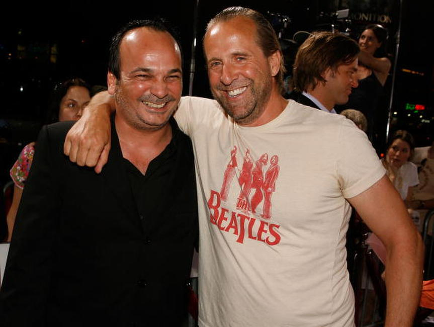 Mennan Yapo and Peter Stormare at the premiere of