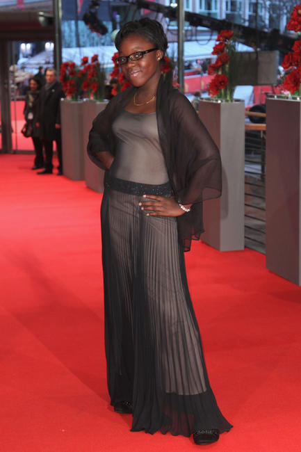 Rachel Mwanza at the Germany premiere of