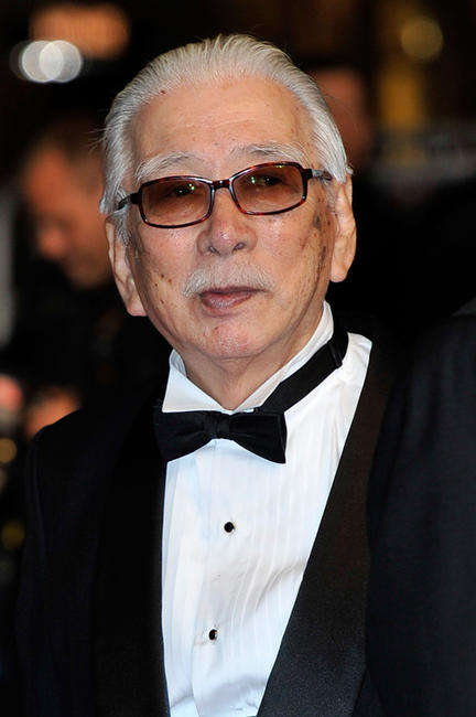 Tadashi Okuno at the premiere of