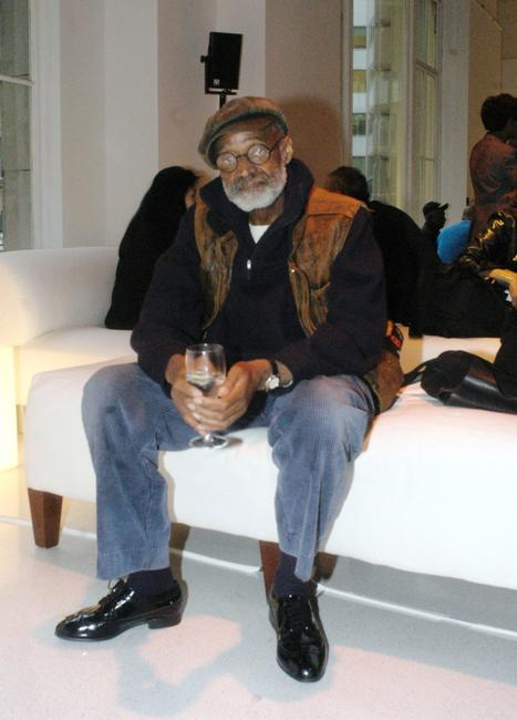 Melvin Van Peebles at the Tribeca Film Festival for the 25th Anniversary celebrations of Black Filmmaker Foundation.