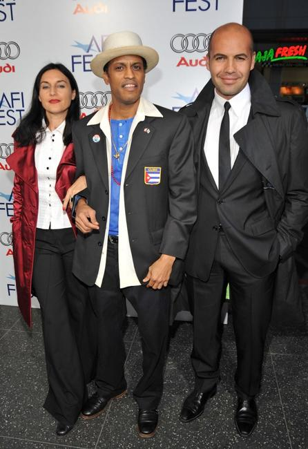Lisa Zane, Roberto Santana, and Billy Zane at the 2008 AFI Fest centerpiece gala screening of
