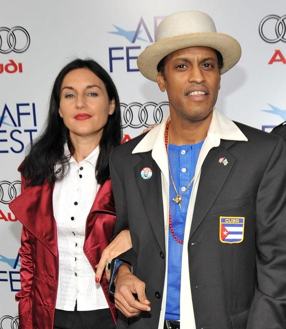 Lisa Zane and Roberto Santana at the 2008 AFI Fest centerpiece gala screening of