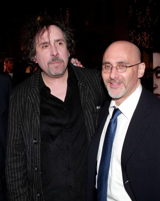 Tim Burton and Jeff Robinov at the special screening of