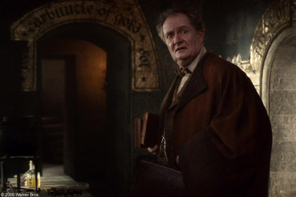 Jim Broadbent as Professor Horace Slughorn in