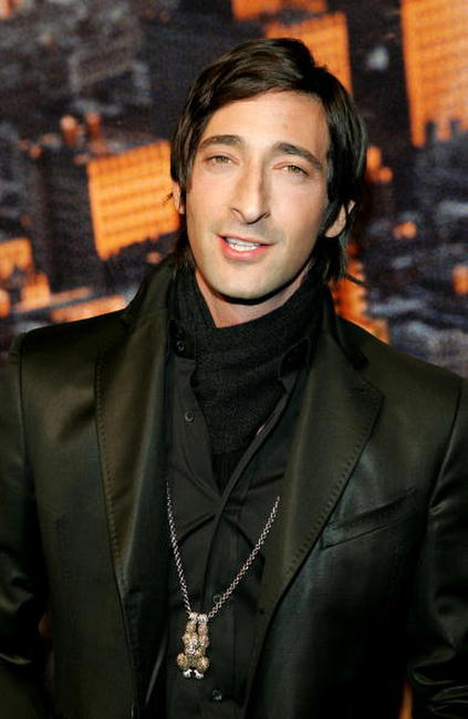 "Adrien Brody attends the premiere of ""King Kong"" in New York City."