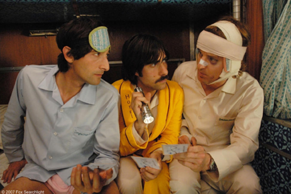 Adrien Brody, Jason Schwartzman and Owen Wilson in