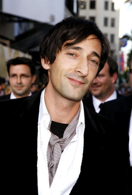 Adrien Brody at the 35th AFI Life Achievement Award tribute to Al Pacino in Hollywood, California.