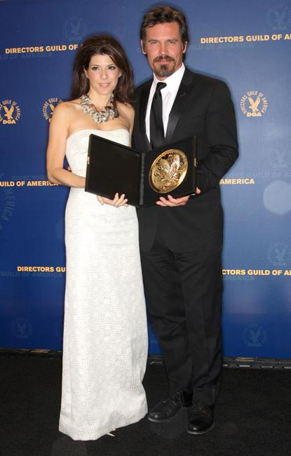 Marisa Tomei and Josh Brolin at the 61st Annual Directors Guild of America Awards.