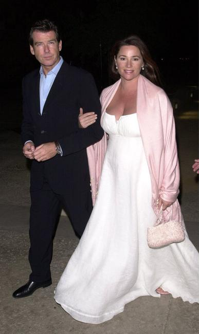 Pierce Brosnan and Keely Shaye Smith at the Los Angeles premiere of