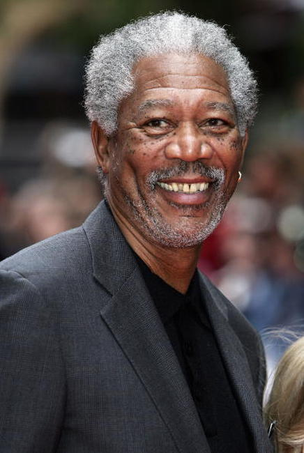 Actor Morgan Freeman at the London premiere of