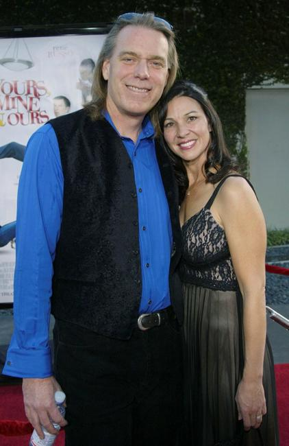 Raja Gosnell and his wife at the premiere of